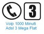 ADSL 3 MEGA + VOIP Home